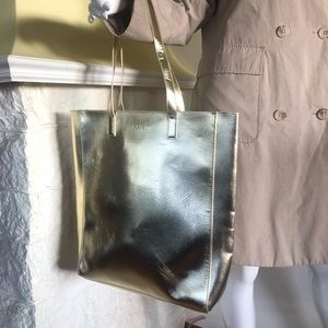 Givenchy Parfums Gold Tote Bag